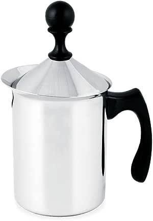 INOXPRAN 8100 Cappuccino Creamer, Stahl, Grau:
