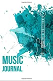 Music Journal: Lyric Diary and Manuscript Paper for Songwriters and Musicians; Guitar Styles: Volume 1