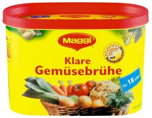 Maggi klare Gemüse Brühe, 3er Pack (3 x 18 l Dose)