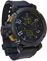 Welder K34-2001 - Reloj para hombres, correa de goma color negro