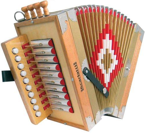 Scarlatti Cajun C Melodeon Akkordeon