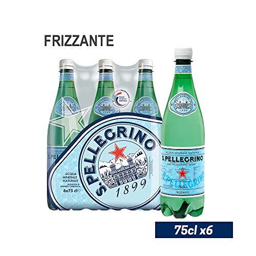 S. PELLEGRINO Acqua Minerale Naturale Frizzante 75cl x 6