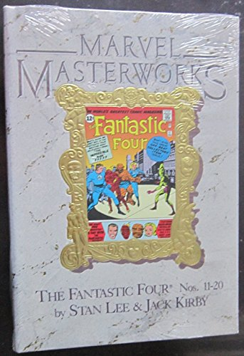 Marvel Masterworks #6: Fantastic Four: 2 by Stan Lee (1-Dec-1988) Hardcover