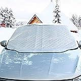 Hete-supply Pare-Brise Voiture Housse de Snow Ice et Pare-Soleil Protector Film Aluminium épaisse magnétique Snow Coque Proof Visière Pare-Soleil extérieur Protection pour Votre Voiture