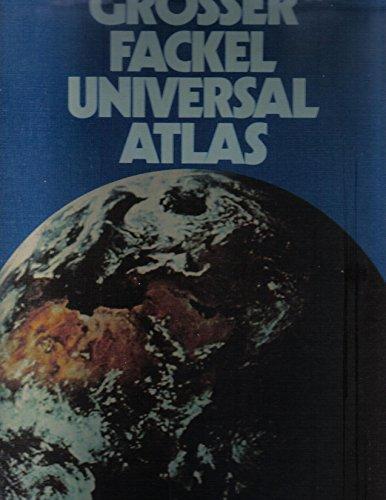 Grosser Fackel-Universal-Atlas. In Zusammenarbeit mit dem Bibliographischen Institut Mannheim