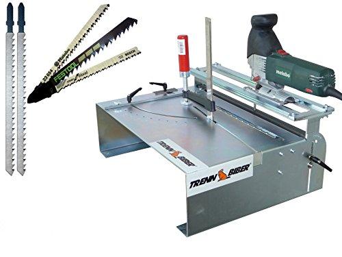 XXL jigsaws mesa como sierra ingletadora + Bosch Festool