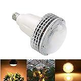 Lampada per Piante 100W 150W COB Warm White LED Grow Bulb per fioritura Illuminazione Piante da giardino Indoor Pianta Crescita Lampada Led Bulbo Idroponica Grow Box Fiori Illuminazione,150W