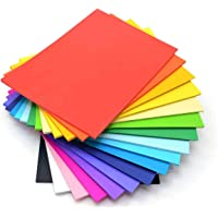 OFIXO 100 Pieces A4 Color Paper (10 Sheets of Each Color) for Art and Craft/Printing Purpose Multi Color Paper Thin…
