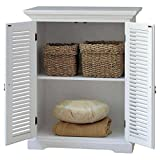 Schrank New Dheli Bücherschrank Holz Aufbewahrung Landhausstil Modular weiß
