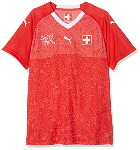 PUMA Erwachsene Suisse WMS Home Shirt Red White, L -