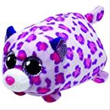 Ty Boos Plush Toy Leopard Lizzie Tasha Dotty Speckles Glamour Spotty Plush Soft Stuffed Animal Collection Doll Toy 15cm Glamour Leopard