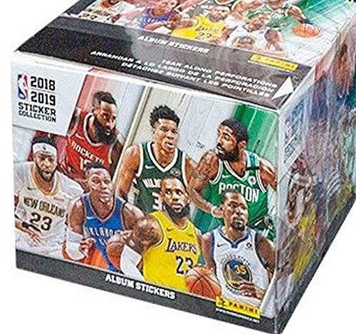 Panini 2018/19 NBA Basketball-Sticker, 50 Stück (Nba-basketball-spiel)