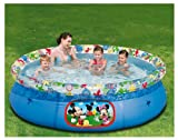 Happy People 18530 - Happy People,Quick UP Pool Disney Clubhouse, 244 x 66 cm