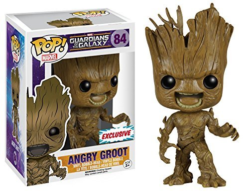 FunKo 017681 Pop Movies : Guardians of The Galaxy Angry Groot 84 Bobble Head (The Galaxy Guardians Disney Of)