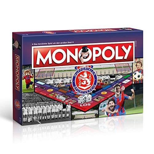 Winning Moves Monopoly Wuppertaler SV WSV Fußball Spiel Gesellschaftsspiel Brettspiel