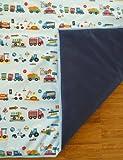 Ideenreich – Krabbel- und Spieldecke King Size, Autos, 150 x 180 cm - 3