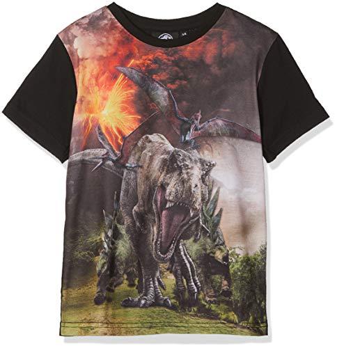 Jurassic Park Jungen Dinosaur Herd T-Shirt, Grün (Green), 3-4 Jahre (Junge Aus Jurassic Park)