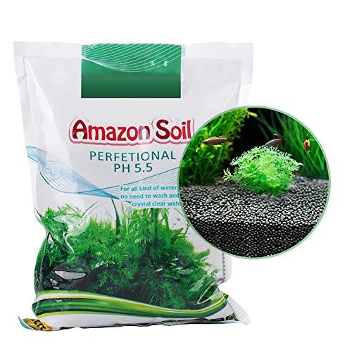 Aquarium Boden, einfach zu bedienen Hohe Stabilität Aquarium Boden Wasser Grassamen Pflanzensand Mud1000g Pro Beutel