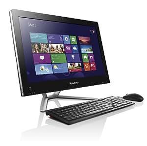 Lenovo C540 23-inch All-in-One PC (Black) - (Intel Pentium G2020 2.9GHz Processor, 4GB RAM, 500GB HDD, DVDRW, LAN, WLAN, Webcam, Integrated Graphics, Windows 8)