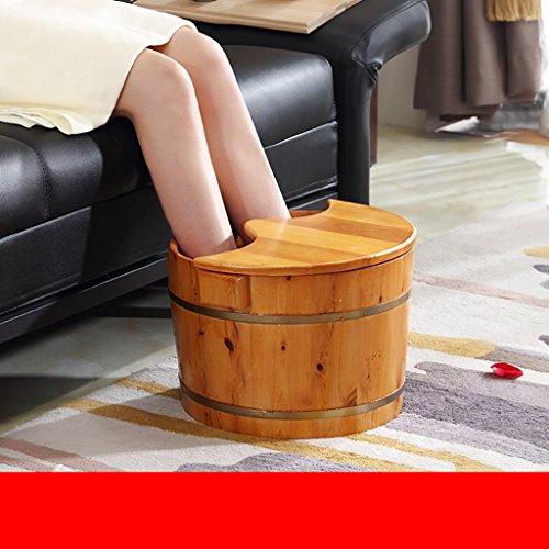 Smxjp pediluvio/con il piede vasca/pediluvio vasca di legno foot tub piedi lavare il foot tub (dimensioni : 2)
