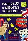 Harrap'S Petits Jeux et Petites Enigmes 100 % British 6-5 - Cahier de vacances