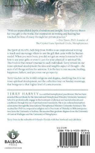 The Spirit of Agape Self-Help from Within: Inspirational Writings of Terry Harvey