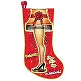 Kurt Adler 19 Inch A Christmas Story Leg Lamp Light Up Stocking