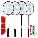#8: Silver's SIL-SM-Combo-9 Aluminum Badminton Set