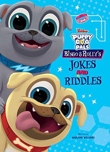 DISNEY BOOK GROUP: PUPPY DOG PALS BINGO & ROLLYS JOKES & RI (Disney Puppy Dog Pals)