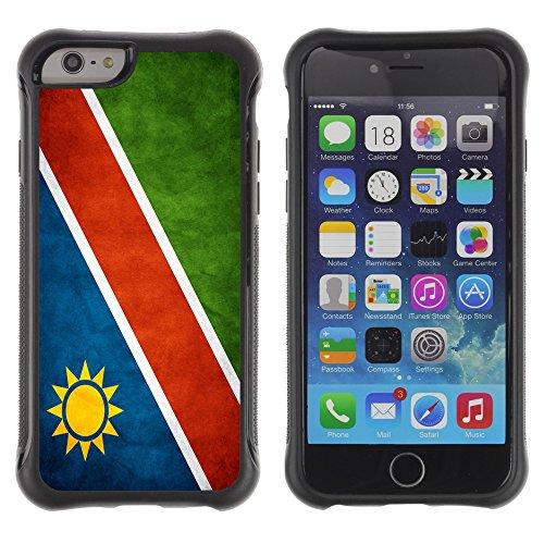 Graphic4You Vintage Uralt Flagge Von Äthiopien Äthiopier Design Harte Hülle Case Tasche Schutzhülle für Apple iPhone 6 Drapeau Namibien Namibie