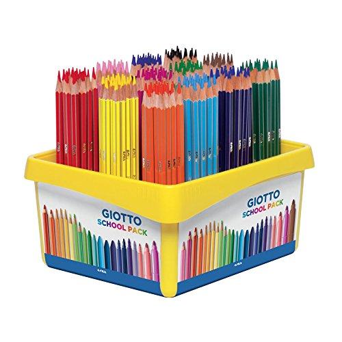 Pastelli giotto stilnovo - 192 pezzi in 12 colori