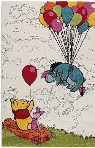 Teppich für Kinder-Disney Winnie the Pooh-Größe cm 67x 140-Kurzflor 13mm -