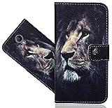 FoneExpert® Wiko Jerry 2 Handy Tasche, Wallet Case Flip Cover Hüllen Etui Hülle Ledertasche Lederhülle Schutzhülle Für Wiko Jerry 2