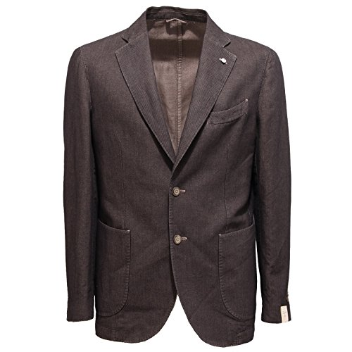 2336Q giacca uomo L.B.M. 1911 LIMITED EDITION marrone jacket men [50-R]