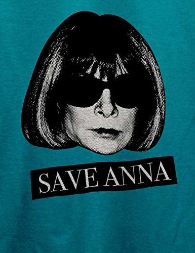 Save Anna Wintour Herren T-Shirt Türkis