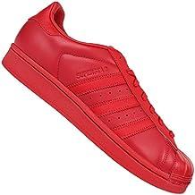 Zapatillas adidas – Superstar Glossy Toe W rojo/rojo/rojo talla: 44