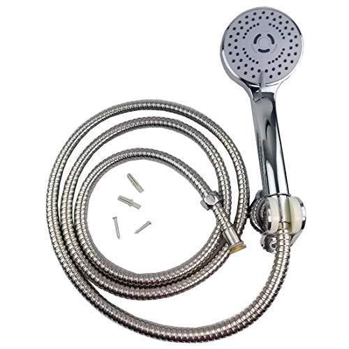 che Kopf mit 2m Schlauch, Wassersparend 3-Functions Hand-Duschkopf ()