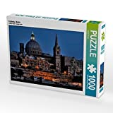 Valletta, Malta 1000 Teile Puzzle quer (CALVENDO Orte)
