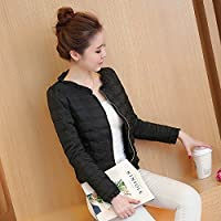 WJP mujeres ultra ligero de la chaqueta poco voluminoso abajo Outwear amortiguar por la chaqueta W-2255
