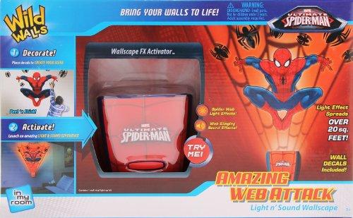 Uncle Milton Wild Wände Amazing Web Attack Spider-Man (Spider Amazing Man Wand)