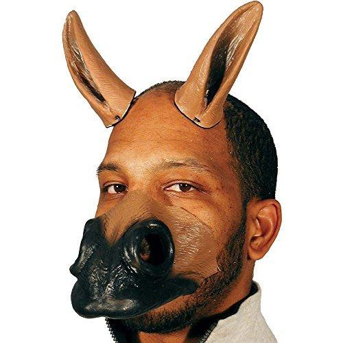 horsenfeffer Latex Pferd Ohren und Nase Kostüm Kit