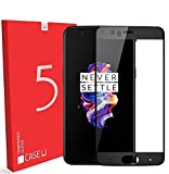#8: Case U OnePlus 5 Full Coverage 3D Tempered Glass Screen Protector - Black
