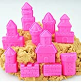 #5: Funny Teddy Sand Toy with Sand and 10 Molds - Art and Craft | Never Dries Out Sand | Very Soft Sand