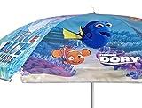 Findet Dory Sonnenschirm Strandschirm ca. 140 cm für Terrasse, Garten und Strand Sonnenschutz UV 50 +
