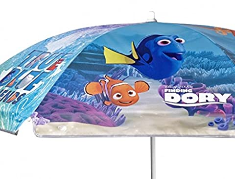 Findet Dory Sonnenschirm Strandschirm ca. 140 cm für Terrasse, Garten und Strand Sonnenschutz UV 50