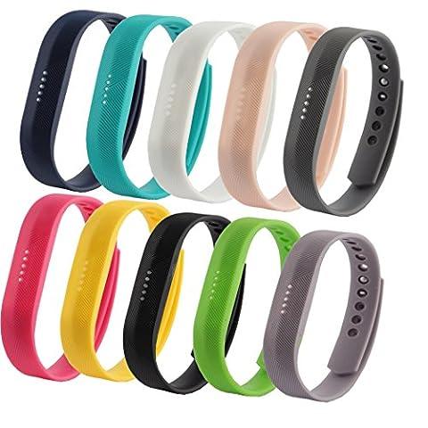 Fit-power - Lot de 2 bracelets de rechange pour Fitbit
