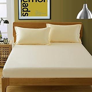 FHFGHYURBNYFGHFBY Gesamtes Baumwoll-Bett und einzelstück/Pure Cotton Color Protection Sleeve/Bett Sets/Sheet/matratzenbezug/staubdichte Abdeckung-E 180x200cm(71x79inch)