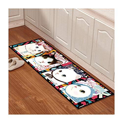 Bay-schlafzimmer-set (SOARLL Home Kitchen Floor Mat , rutschfeste Wasseraufnahme und pflegeleicht, Schlafzimmer Bay Window Carpet Set (Color : C, Size : 60 * 180cm))