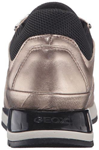 Geox Damen D Shahira A Sneakers Gold (CHAMPAGNECB500)
