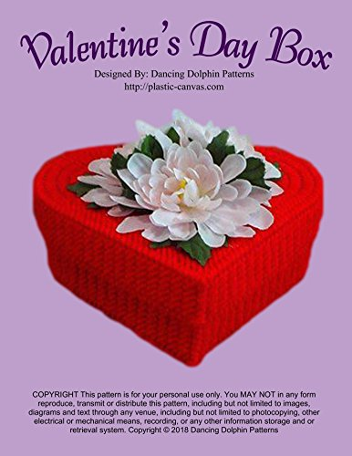 Valentine's Day Box: Plastic Canvas Pattern (English Edition)